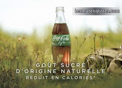 le nouveau coca cola life et le rapport naturel au sucre. Black Bedroom Furniture Sets. Home Design Ideas